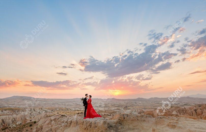 Fatiş & İshak   Kapadokya Save The Date ve Düğün Fotoğrafları 40