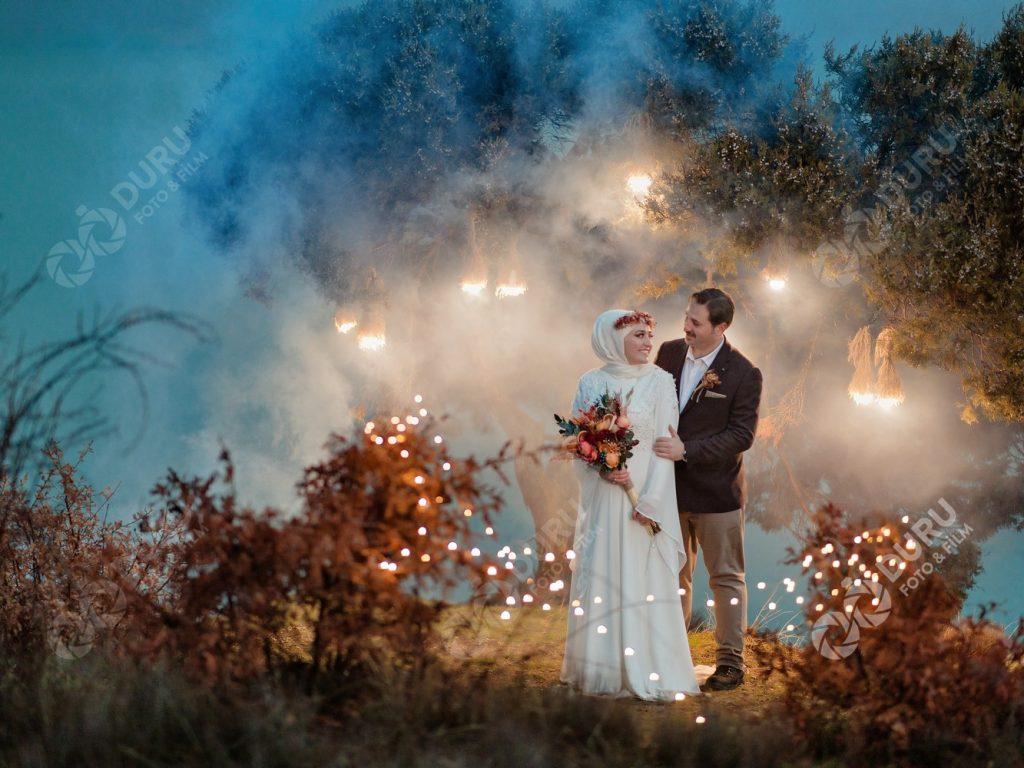 Havva & Cemal   Konya Beyşehir Düğün Fotoğrafları   Tesettür Düğün Pozları   En İyi Düğün Fotoğrafçısı Duru Foto Film 37